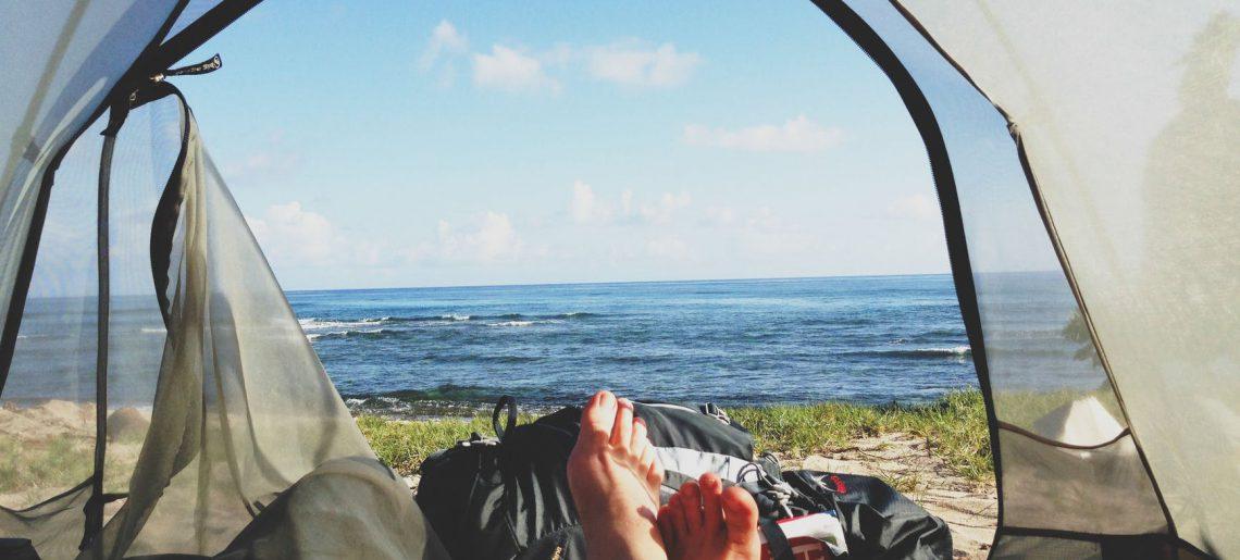 Dmuchany namiot idealny na letni wypoczynek